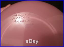 13 MONSTER! Kosta boda danish modern glass vase ANNE NILSSON vtg mcm table art