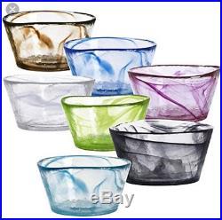 32 Piece Set Kosta Boda Mine Designer Glassware Service For 8