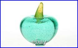 A Kosta Boda Gunnel Sahlin Frutteria series glass fruit Swedish