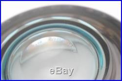 A Kosta Boda Ove Sandeberg art glass bowl Swedish Optical design