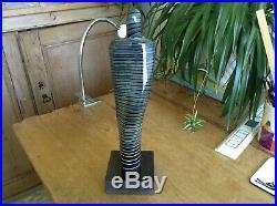 A Stunning Signed Ltd Edt Bertil Vallien Kosta Boda Art Glass Figure Sculpture