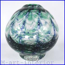 Art Deco Glas Vase, 2,2 kg, Kosta Boda Glasbruk, Art Glass Sweden ca 1930