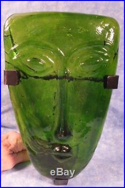 Art Glass Face Mask UNmarked Boda/Bertil Vallien