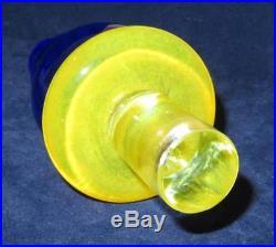 Art Glass Kosta Boda, 89652 Kjell Engman Can Can, Bottle Decanter, 12 tall