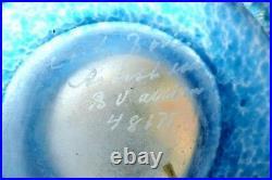 Art glass vase, designed by Bertel Vallien for Kosta Boda
