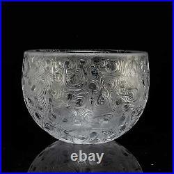 BODA AFORS by Bertil Vallien c. 1967 Hand Carved Limited Edition Large Bowl