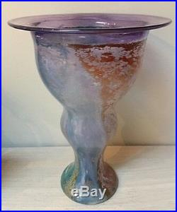 Beautiful 8 Kosta Boda Can Can Vase by Kjell Engman Made in Sweden