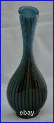 Beautiful Colora Vase by Vicke Lindstrand for Kosta, Sweden