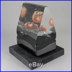 Bertil Vallien (Black Elements 2008) Glass Sculpture House of Mystery