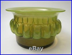 Bertil Vallien Boda Afors Pre Kosta Sweden Green Art Glass Vase Scandinavian #2