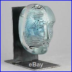 Bertil Vallien (Brains 2017) Large Glass Head Look