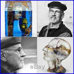 Bertil Vallien (Brains 2018) Glass Head Hefaistos