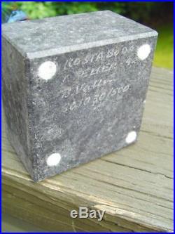 Bertil Vallien Kosta Boda Atelier Glass Sculpture Limited Ed. Signed & Numbered