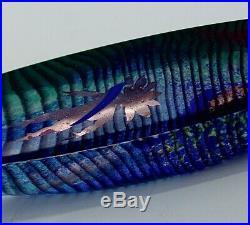Bertil Vallien Kosta Boda Exquisite Mandrake Sand Cast Boat Signed & Numbered