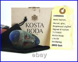 Bertil Vallien Kosta Boda Limited Edition Brains Resting Head