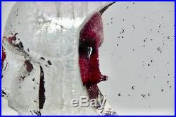 Bertil Vallien Little Janus Pink Kosta Boda Signed Limited Edition