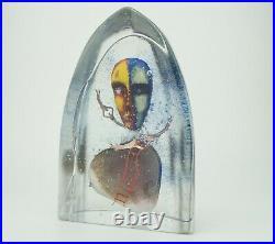 Bertil Vallien Sculpture Kosta Boda Limited Edition Signed