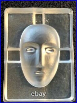 Bertil Vallien for Kosta Boda Glass Blue Brain and Cell 1990's Art Glass