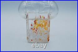 Boda Afors. Bertil Vallien. Bottle/vase Tundra. Signed. 1968. Very Rare