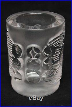 Boda Afors. Bertil Vallien. Thickwalled Vase In Clear Glass. Signed