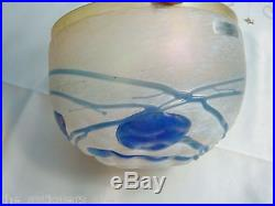 Boda Galaxy Blue Bowl made in Sweden Artist signed B. Vallien # 58015 1