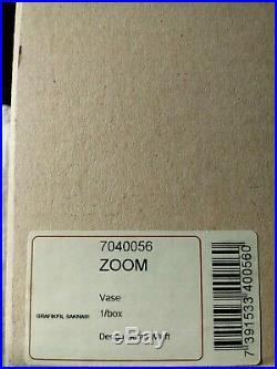 Brand New Zoom VASE Goran Warff for Kosta Boda in Box