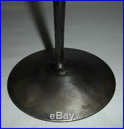 CANDELABRA Wrought iron and glass KOSTA BODA / BODA SMITHY ERIK HOGLUND