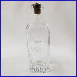 Decanter w Face Erik Hoglund Sweden Kosta Boda Glass Liquor Alcohol Bar Rare Old