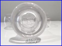 Erik Hoglund Glass Decanter For Boda Sweden w Original Stopper