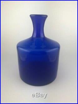 Erik Hoglund pre Kosta Boda Group of Three bottle Vases and Vessel