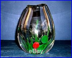 Exceptional Large Kosta Boda Vase Designed By Vicke Lindstrand (lu 2027)