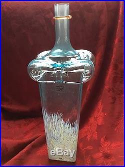FLAWLESS Exceptional KOSTA BODA Art Crystal BODY BUBBLE Bertil VALLIEN VASE