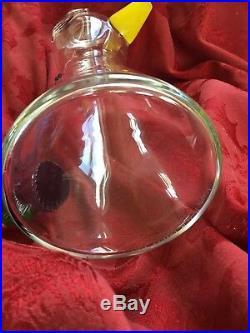 FLAWLESS Exquisite KOSTA BODA Sweden Glass PITCHER CARAFE VASE Art Crystal DUCK