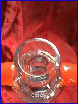 FLAWLESS Stunning KOSTA BODA Art FIGURAL FEMALE HOURGLASS Crystal VASE DECANTER