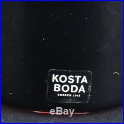 Four (4) PC Kosta Boda Art Glass Make Up Lot