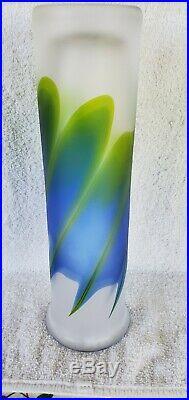 Goran Warff Blue Fire Vase