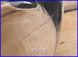 Immense Heavy Kosta Warff Vase Sweden Mid-Century Modernist MCM