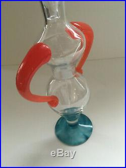 KJELL ENGMAN signed Fenix decanter KOSTA BODA hand blown crystal