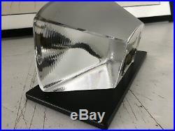 KOSTA BODA ART GLASS'CAT' B. VALLIEN'S VIEWPOINTS withBase & Artist inform
