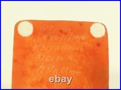 KOSTA BODA ATELIER Series Signed Bertil Vallien 8BVART 974011/1000 5 1/2''T