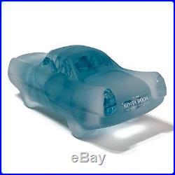 KOSTA BODA Art Glass CAR-TOONS Cadillac Brozen RARE VINTAGE COLLECTABLE / NIB