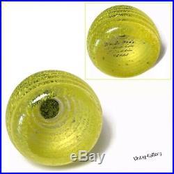 KOSTA BODA Art Glass FRUTTERIA HONEY BEEHIVE Sahlin #98921 VINTAGE COLLECTABLE