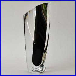 KOSTA BODA Art Glass, Saraband Vase, Göran Wärff, 90er Jahre