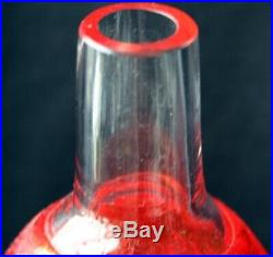 KOSTA BODA BERTIL VALLIEN SATELLITE Bottle Vase