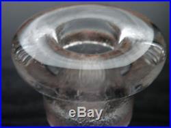 KOSTA BODA Bertil Vallien Suncatcher 2 Lite Candleholder 10x9 Swedish glass