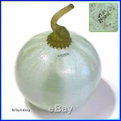 KOSTA BODA Fruit FRUTTERIA X-Large Melon Gunnel Sahlin / VINTAGE COLLECTABLE