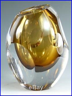 KOSTA BODA Glass Mona Morales Schildt Ventana Vase