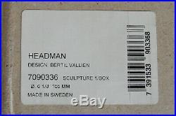 KOSTA BODA Headman Sculpture 7090336 Bertil Vallien