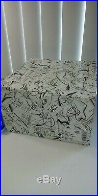 KOSTA BODA MIRAGE 8 Vase Goran Warff Art Glass BLUE GREEN NEW In Box 7040703