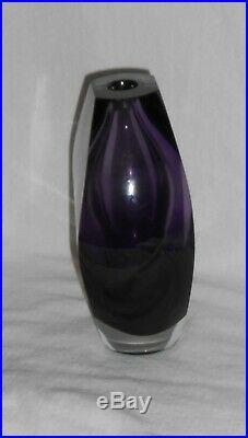 KOSTA BODA Mona Morales-Schildt Kosta Ventana art sculptutre Vase